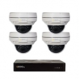 Q-See 8 Channel HD IP Security System with 4-4MP Dome Cameras, 2TB HDD