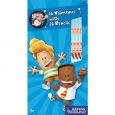 16ct Valentine's Day Captain Underpants Pencils, Multi-Colored