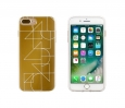 End Scene Iphone 8 Plus/7 Plus/6s Plus/6 Plus Case - Gold Deco Geo Lines