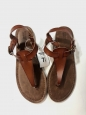 Mossimo Supply Co Brown Sandals Womens Size 7.5