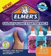 Elmer's 3 Pack Classic Glitter Glue Galaxy Starter Kit Purple Pink Blue 6 Ounc