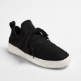 Women's Kressi Lace Up Sock Top Sneakers - Mossimo Supply Co. Black 10