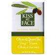 Kiss My Face - Olive Oil Bar Soaps Olive & Green Tea, 8 oz Pack of 12