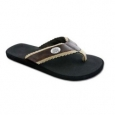 Ohio State Buckeyes S18 Brown Sandal