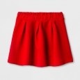 Girls' Knit Jacquard Circle A Line Skirt - Cat & Jack Wowzer Red M