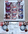 Star Wars Friendship Exchange Hearts + 3 Star Wars Chocolate Spheres