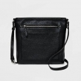 Women's Large Crossbody Handbag - Merona&153; Black