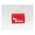 Valentine's Day Be Mine Red Felt Mailbox - Spritz