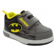 Batman Toddler Boys' Velcro Strap Sneakers 12 - Black