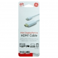 Ge Mini Display Port To Hdmi Cable 6ft - White (33771), Tg M01